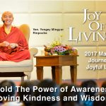 2017 Joy of Living Meditation Retreat With Ven. Yongey Mingyur Rinpoche