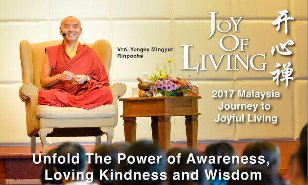 Mingyur Rinpoche Public Talk in Malaysia