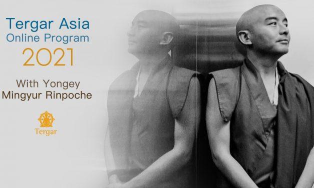 2021 Programme en ligne Tergar Asia